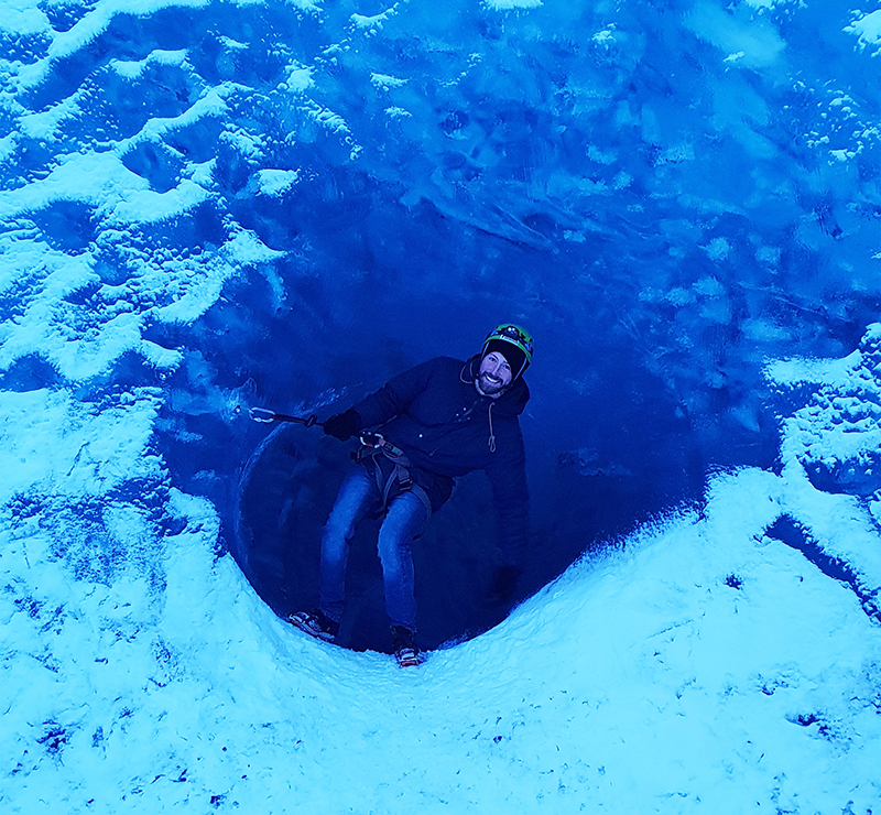 Blue Ice cave and Ice climbing at Skaftafells glacier