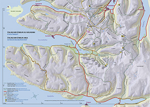 Map of Westfjords Iceland - Korpudalur HI Hostels in Iceland
