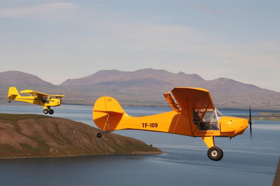 37caea45ed6 Ultralight sightseeing flying tours in Iceland