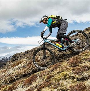 Mountain biking day tour in Iceland