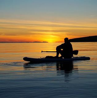 Stand Up Paddle Board Tour in Iceland