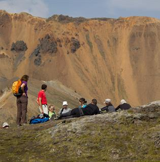 3 day trekking tour in Landmannalaugar