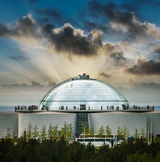 Perlan 360° observation deck