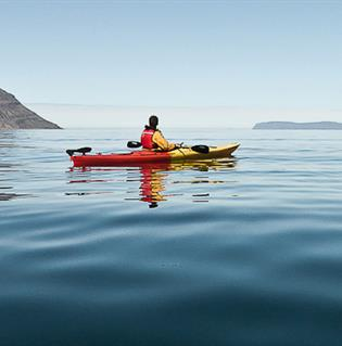 Two Fjord Kayaking in Westfjords